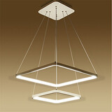 Led Living Design Modern Pendant Light Square
