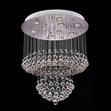 Lights Modern Crystal Lighting Pendant Lamp Clear