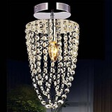 Light Chandelier K9 Modern Bulb Transparent