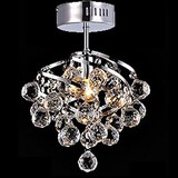 Crystal Traditional/classic Country Pendant Lights Chandeliers Bulb Included