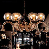 Mini Style Game Room Living Room Tiffany Kitchen Chandeliers Metal Vintage