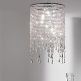 Pendant Light Modern/contemporary Feature For Crystal Metal Others Living Room