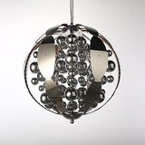 Chandeliers Bedroom Chrome Metal Led Pendant Lights Game Room Kids Room Globe Bathroom