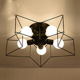 Lighting Child Lamps Five-pointed Personalized Ceiling Light