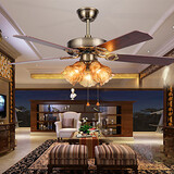 Living Room Ceiling Fans Traditional/classic Metal