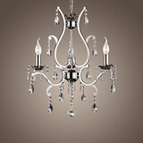 Metal Chandelier Lights Crystal