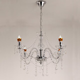 Candle Classic Crystal Transparent Chandelier