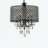 Feature For Crystal Metal Dining Room Hallway Traditional/classic Bedroom Chrome Chandelier