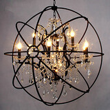 Game Room Feature For Crystal Metal Living Room Traditional/classic Light Painting Island