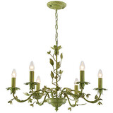 Chandelier Lamp Flowers European Garden Lamp Iron Flower American