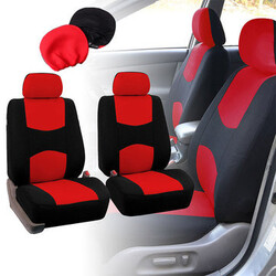 Fabric Covers Universal Kit Car Seat Covers Headrest