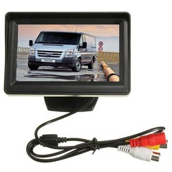 Kit Rear View Reversing Camera Transit Connect Car Monitor 4.3 Inch