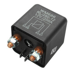 Device 12V Control Automotive Batteries 200A Relay Current