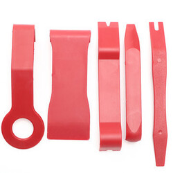 Remover 5pcs Molding Retainer Car Dash Removal Pry Tool Kit Door Trim Panel Clip