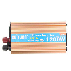 110V Power Inverter Converter Auto Car DC 12V TO AC USB Charger Adapter