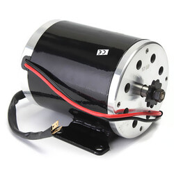 500W Bracket Electric Scooter E-bike Motor 24V Brushed Go-kart Bike Mini