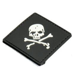 Rubber Black Tactical 3D PVC Army Patch