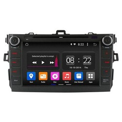 Toyota Corolla Quad Core Android 4.4 Car DVD Radio DVR Support WIFI GPS OBD Ownice C180