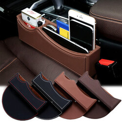 Filler Car Seat Storage Organizer Cards Keys Gap Phones Catcher Box Holder Collector