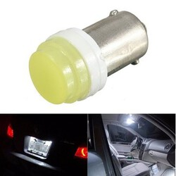 BA9S Ceramic T4W Reading Lamp Car DC 12V License Plate Light Bulb COB LED