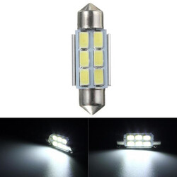 5630 LED Number 36MM C5W Festoon Dome Canbus Error Free 6SMD Side Light