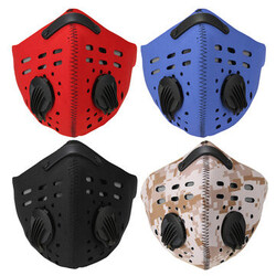 Cycling Motorcycle Racing Bicycle Filter Half Face Mask Ski Anti Dust Dustproof