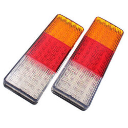 12V Taillight Auto Parts Lamps Tail Lights Truck E-Marked LEDs