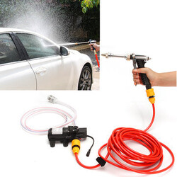 Kit Deck Cleaner 12V High Pressure Car Washer Sprayer Water Pump Wash Marine