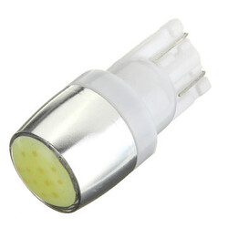 1PC LED COB Car Wedge Side Light SMD Bright White T10 W5W Bulb Lamp