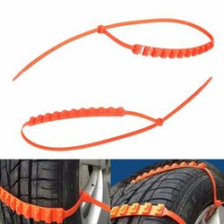 Wheel Tyre Cable Automobiles Chains Anti-Skid Mud Snow Ties Car Truck Tire