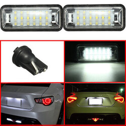 Subaru Impreza Legacy LED License Plate Light Lamp