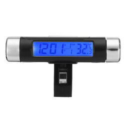Monitor Time Car Digital LCD Display Clock Temperature Thermometer