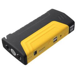 Car Jump Starter Power Bank Battery Supply Emergency Power Inflator Pump