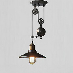 Vintage Pendant Lights Retro Lodge Rustic Garage Metal Kitchen Country
