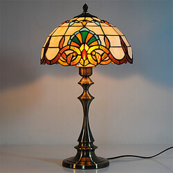 Tiffany Living Room Glass Retro Inch Table Lamps