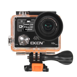 4K Ultra HD EKEN V8s Action Camera Sport DV WiFi Control 170 Degree Wide Angle 2.4G Remote