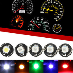 Dashboard Car Gauges LED Indicator Light T3 Cluster Bulb