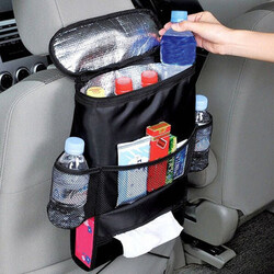Multifunctional Car Travel Warming Seat Storage Multi-Pocket Bag