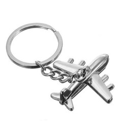 Aircraft Metal Personalized Creative Key Chain Ring Gift