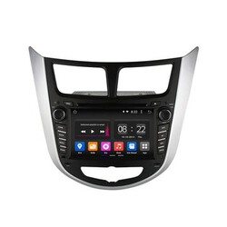 Player GPS Navigation 2G RAM Stereo Ownice C180 Hyundai Quad Core Android HD Accent Solaris
