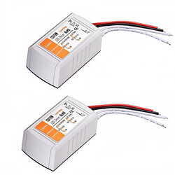 18w Led 2pcs 12v 100 110-240v Voltage Converter