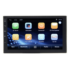 GPS 2DIN MP5 Player 3G Car Radio Stereo Inch Double 4G Wifi Quad Core Android