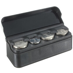 Container Car Interior Box Holder Plastic Coin Storage Organizer Case