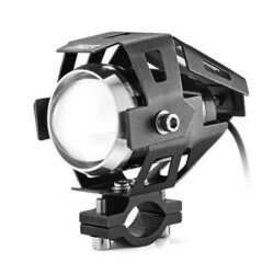 Low Beam U5 Spotlightt Strobe Motorcycle LED Headlight