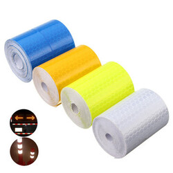 5cm x Conspicuity Reflective Film Car Sticker Tape 300cm Safety Warning