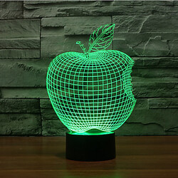 Christmas Light Led Night Light Touch Dimming Decoration Atmosphere Lamp 3d Apple 100
