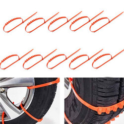 Tire Anti-skid Chains 10pcs Wheel Tyre Tendon Thickened Car Truck Mud Snow Ice