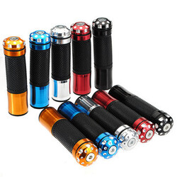 Universal Motorcycle Handlebar Grips 5 Colors 8inch 22mm