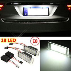 Number License Plate Light Lamp Cruze Error Free Chevy Camaro LED SMD