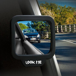 Seats Magnetic Convex Safe Rear Second Mirror Car Degrees Wide Angle